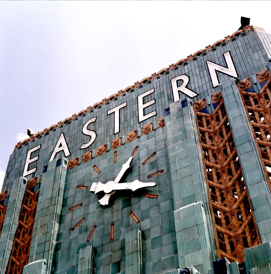 The Eastern Columbia Clock, Los Angeles
