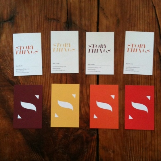 Storythings Business Cards